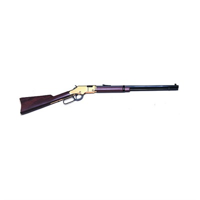 Click here to buy Goldenboy 20.5in 22 Wmr Blue Wood Open Rifle Sights 12+1rd by Henry Repeating Arms.
