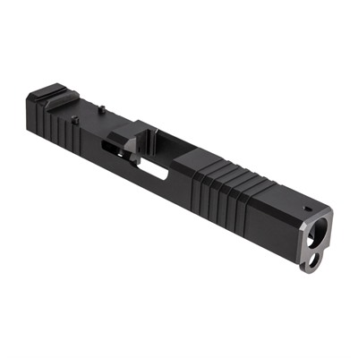 Front Cut Rmr Slide for Gen3 Glock 9mm 17-4 Stainless Nitride by Brownells