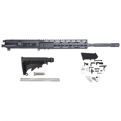 AR-15 Upper Receiver w/ Lower Parts Kit & Stock Assembly by Brownells