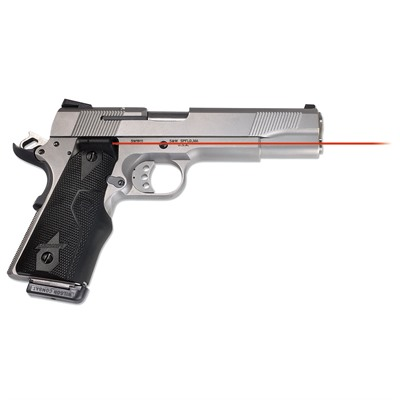 1911 Full-Size Side Activation Lasergrips by Crimson Trace Corporation