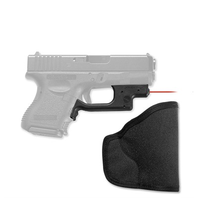 Glock Compact/Subcompact Laserguard with Pocket Holster by Crimson Trace Corporation