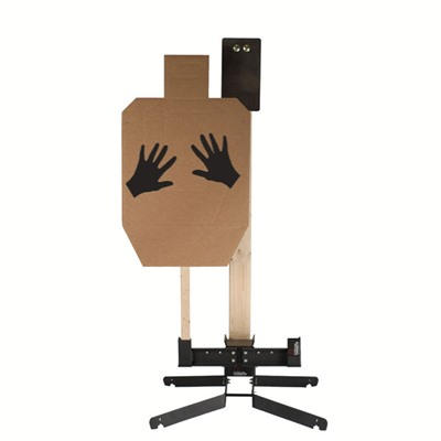 Steel Handgun & Rifle Targets with Heavy Base by Challenge Targets