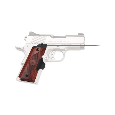 Click here to buy 1911 Compact Rosewood Master Series Lasergrips by Crimson Trace Corporation.