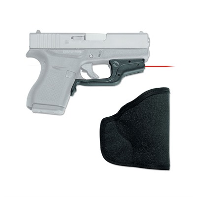Glock 42/43 Laserguard with Pocket Holster by Crimson Trace Corporation