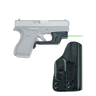 Glock 42/43 Laserguard with Blade-Tech Iwb Holster by Crimson Trace Corporation