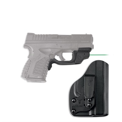Springfield Xd-S Laserguard with Blade-Tech Iwb Holster by Crimson Trace Corporation