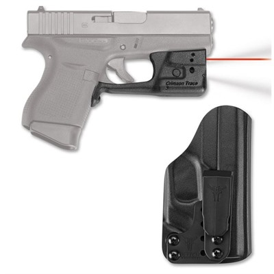 Glock 42/43 Laserguard Pro with Blade-Tech Iwb Holster by Crimson Trace Corporation