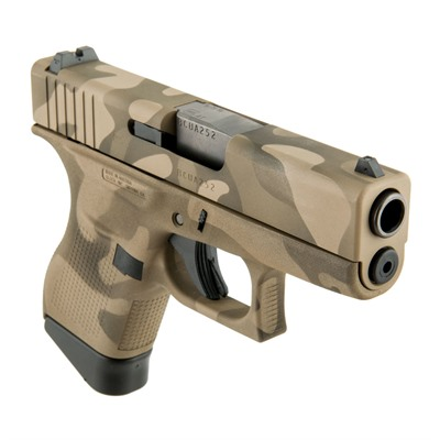 Camoflage G43 Handgun 9mm 6+1 by Glock