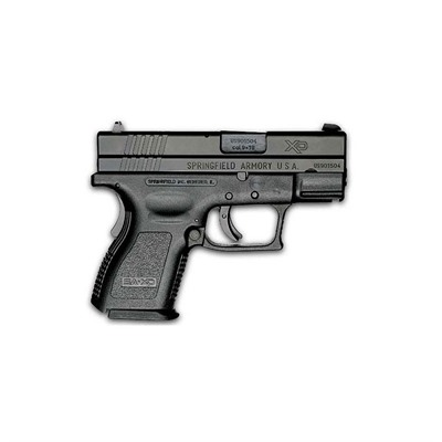 Xd Sub-Compact Essentials Pack 3in 9mm Black 13+1rd by Springfield Armory