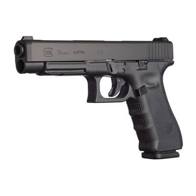 G34 G4 5.32in 9mm Gas Nitride 17+1rd by Glock