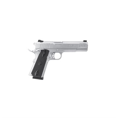 Click here to buy Pt-1911 5in 45 Acp Stainless Black Polymer Fixed 8+1rd by Taurus.
