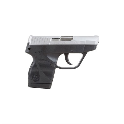 738 Tcp 3.3in 380 Auto Stainless Black Polymer Fixed 6+1rd by Taurus
