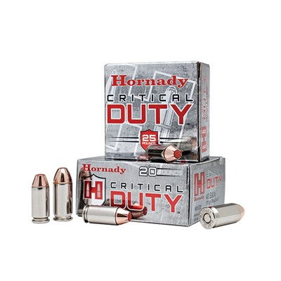Critical Duty Ammo 45 Acp +p 220gr Flexlock by Hornady