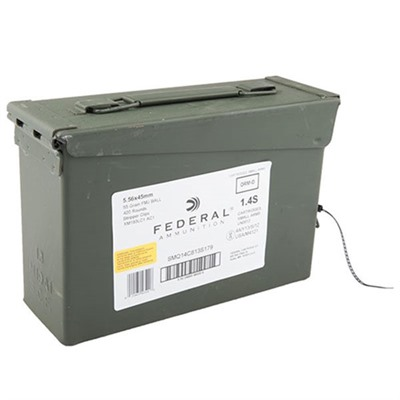American Eagle Ammo 5.56x45mm Nato 55gr Xm193 Ammo Can by Federal