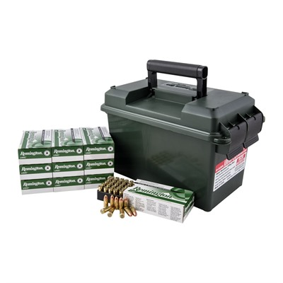 Umc Ammo 40 S & w/ 180gr FMJ Ammo Can by Remington