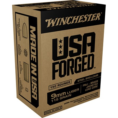Usa Forged Ammo 9mm Luger 115gr FMJ by Winchester