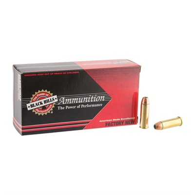 44 Magnum 240gr Jacketed Hollow Point Ammo by Black Hills Ammunition