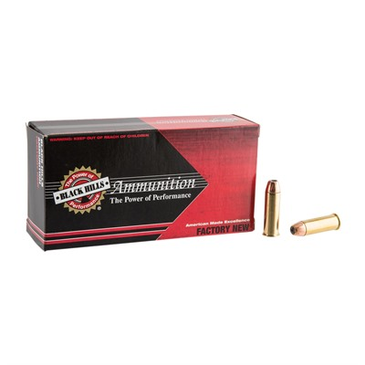 44 Magnum 300gr Jacketed Hollow Point Ammo by Black Hills Ammunition