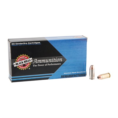 Remanufactured Ammo 40 S & w/ Jacketed Hollow Point by Black Hills Ammunition