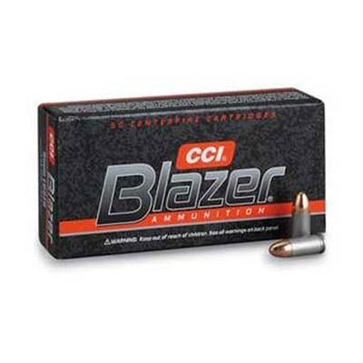 Click here to buy Blazer Ammo 38 Special +p 158gr FMJ by Cci.