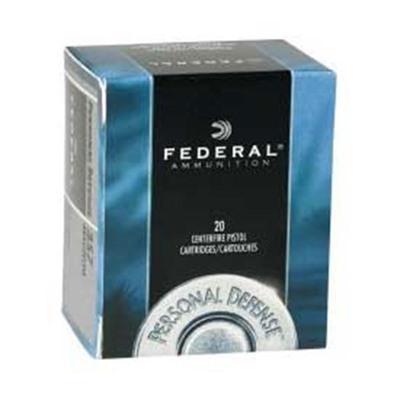 Personal Defense Ammo 9mm Luger 115gr Hydra-Shok by Federal