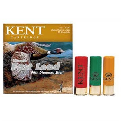 Ultimate Fast Lead Ammo 12 Gauge 3 & Quot; 1-3/4 Oz 4 Shot by Kent Cartridge