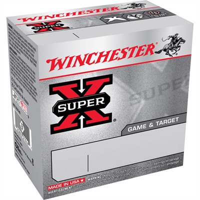 Super-X Game & Target Ammo 12 Gauge 2-3/4 & Quot; 1 Oz 6 Shot by Winchester