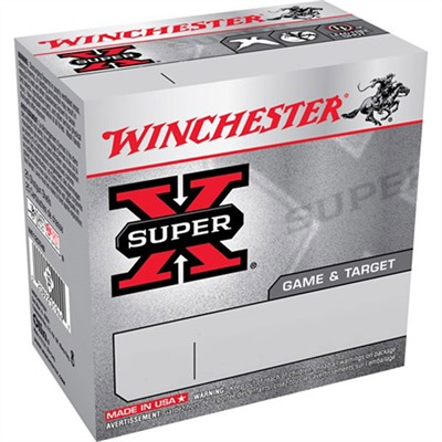 Super-X Game & Target Ammo 12 Gauge 2-3/4 & Quot; 1-1/8 Oz 7 Shot by Winchester