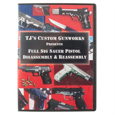 Sig Sauer Pistol-Assembly and Disassembly by Tjs Custom