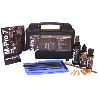 Tactical Gun Cleaning Kit by M-pro 7