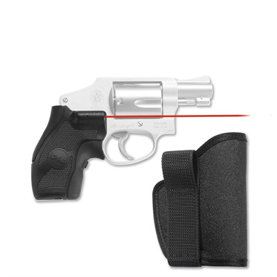 S & w/ J-Frame Round Butt Lasergrips with Iwb Holster by Crimson Trace Corporation