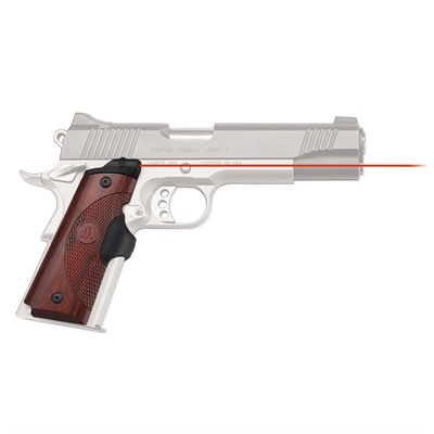 Click here to buy 1911 Full-Size Rosewood Master Series Lasergrips by Crimson Trace Corporation.