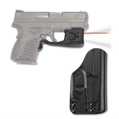 Springfield Xd-S Laserguard Pro with Blade-Tech Iwb Holster by Crimson Trace Corporation