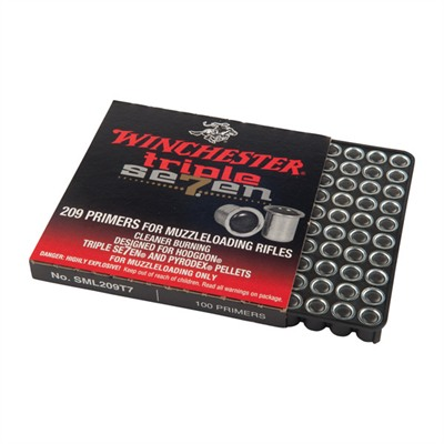 Triple 7 209 Muzzleloading Primers by Winchester