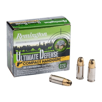 Ultimate Defense Ammo 9mm Luger 124gr Bjhp by Remington