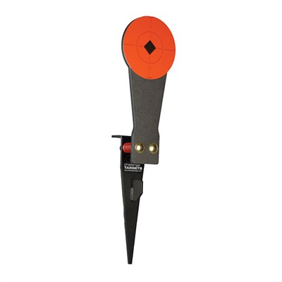 Stake-N-Shoot Steel Rifle Target & Colt Speed Plate by Challenge Targets