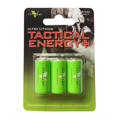 Cr123a Lithium Batteries by Viridian