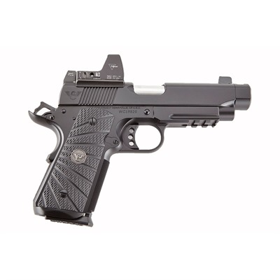 Click here to buy Opti-Comp 9mm 4 & Quot; Black Compensated w/Rmr by Wilson Combat.