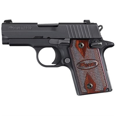 P938 Handgun 9mm 3in 6+1 938-9-Rg-Ambi by Sig Sauer
