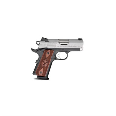 1911-A1 Emp Compact 3in 40 S & w/ Ss Thinline Cocobolo Fixed 8+1rd by Springfield Armory