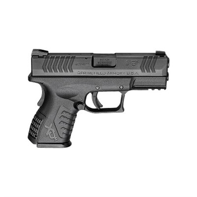 Xd(M) Compact 3.8in 9mm Black 19+1rd by Springfield Armory