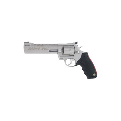 444 Raging Bull 6.5in 44 Magnum Matte Stainless 6rd by Taurus