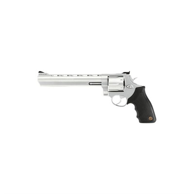 Click here to buy 44ss8 8.375in 44 Magnum Stainless 6rd by Taurus.