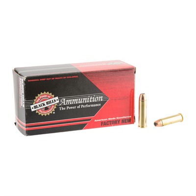 357 Magnum 125gr Jacketed Hollow Point Ammo by Black Hills Ammunition