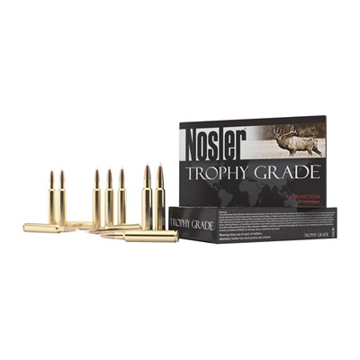 Trophy Grade Ammo 7mm Remington Magnum 168gr Accubond Lr by Nosler, Inc.