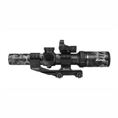 Mtac Scope 1-4x24mm w/Fastfire Iii & Pepr Mount by Burris