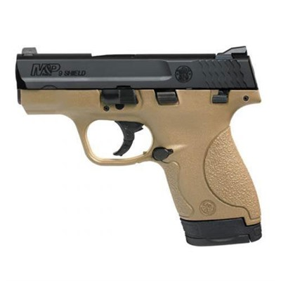 M & P Shield Fde 9mm 3.1 & Quot; 7+1 by Smith & Wesson