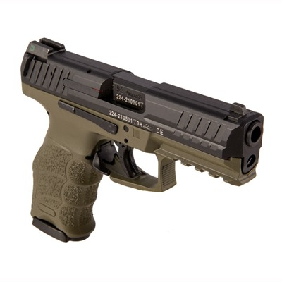 """Click here to buy Vp9 Green 9mm 4.1"""" 15+1 by Heckler & Koch."""