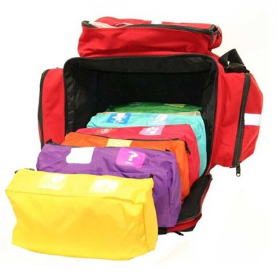 Click here to buy First Voice Color Coded First Aid Responder Kit by Think Safe Inc.