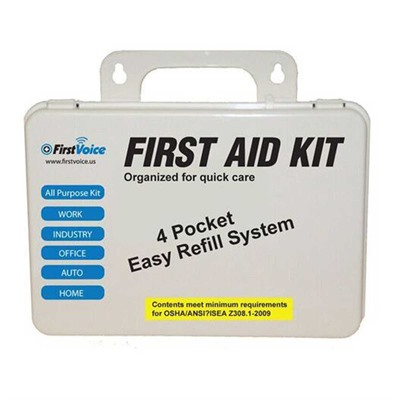 First Voice Deluxe First Aid Kit by Think Safe Inc